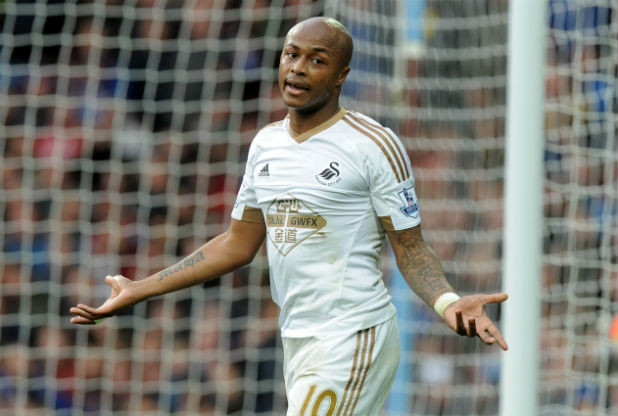 Swans rule out Ayew sell to Sunderland or Liverpool