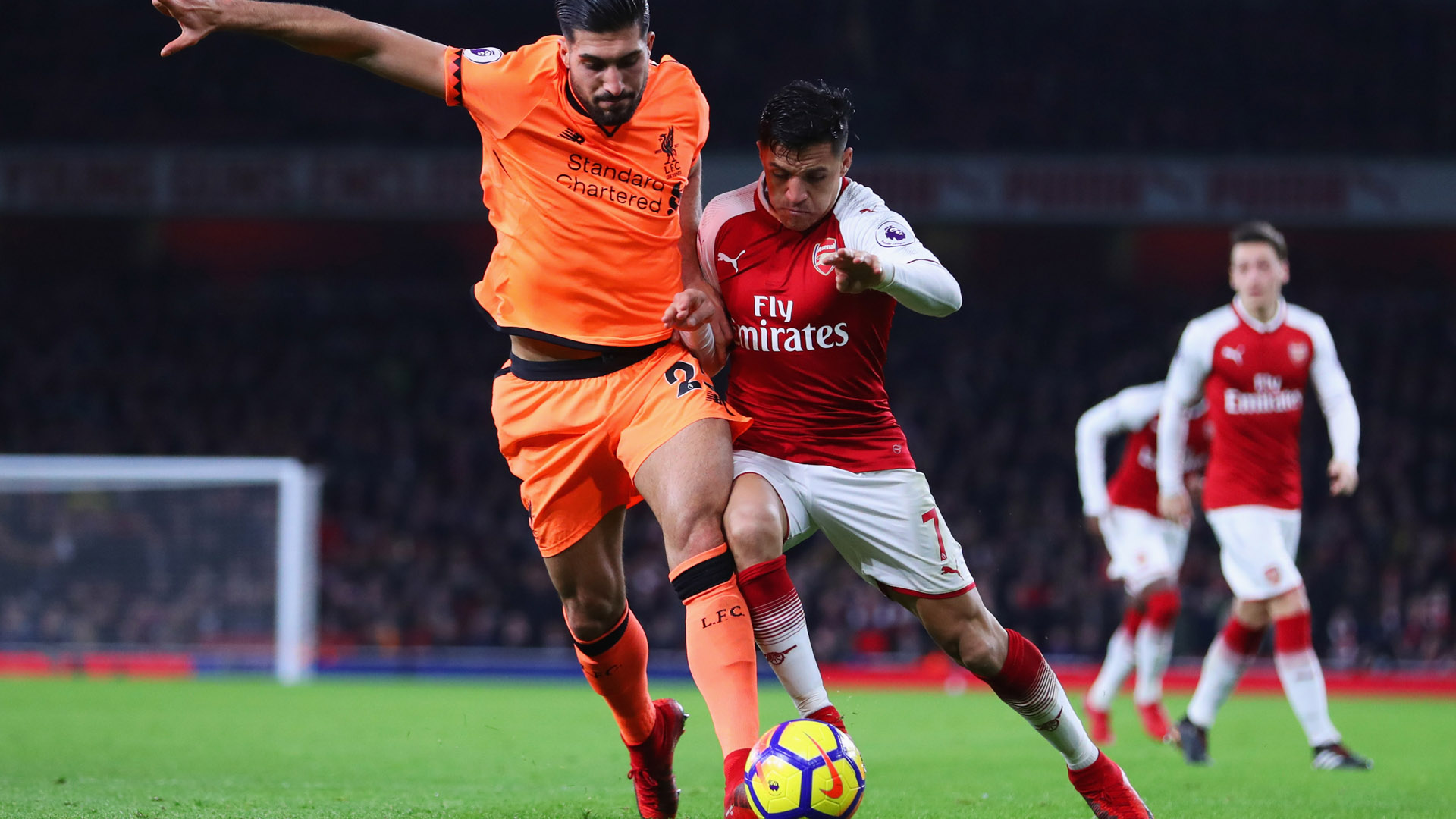 Arsenal v Liverpool – Premier League