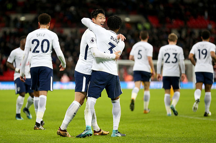 Tottenham Hotspur v Brighton and Hove Albion – Premier League – Wembley Stadium
