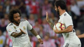 Isco scorers for Real Madrid after coming off the bench against Athletic Bilbao in La Liga on Saturday 15th September 2018