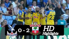 Highlights Crystal Palace 0-2 Southampton