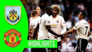 Highlights Burnley 0-2 Manchester United