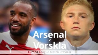 Arsenal Vs Vorskla Poltava