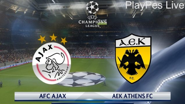 Ajax Vs AEK Athens