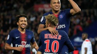 Mbappe Scorers four as PSG thrash Lyon in Ligue 1
