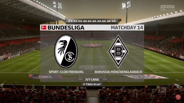 SC FREIBURG VS MONCHENGLADBACH on sekdrive