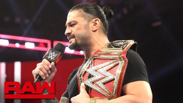 Roman Reigns Reveals he has leukemia, Surrenders universal title on Raw