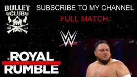 2019 men's Royal Rumble match; Seith Rollins Scoops the Crown