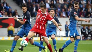 Hoffenhayern Munich striker Robert Lewandowski will miss the second leg of their Champions League tie against Chelsea after being ruled out for four weeks with a leg injury. … Bayern said he fractured his tibia near his left knee joint during the game. The 31-year-old is likely to miss at least six matcheseim vs Munich