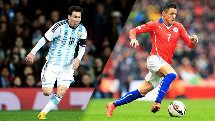 Argentina top group, Chile advance