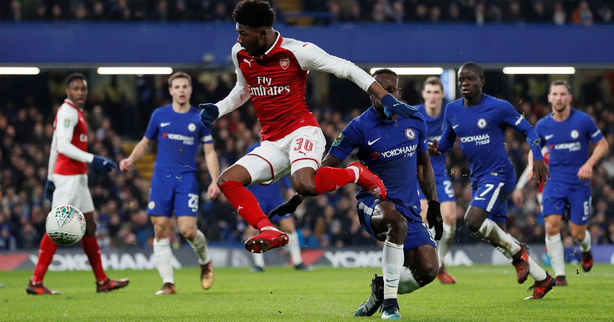 Carabao-Cup-Semi-Final-First-Leg-Chelsea-vs-Arsenal
