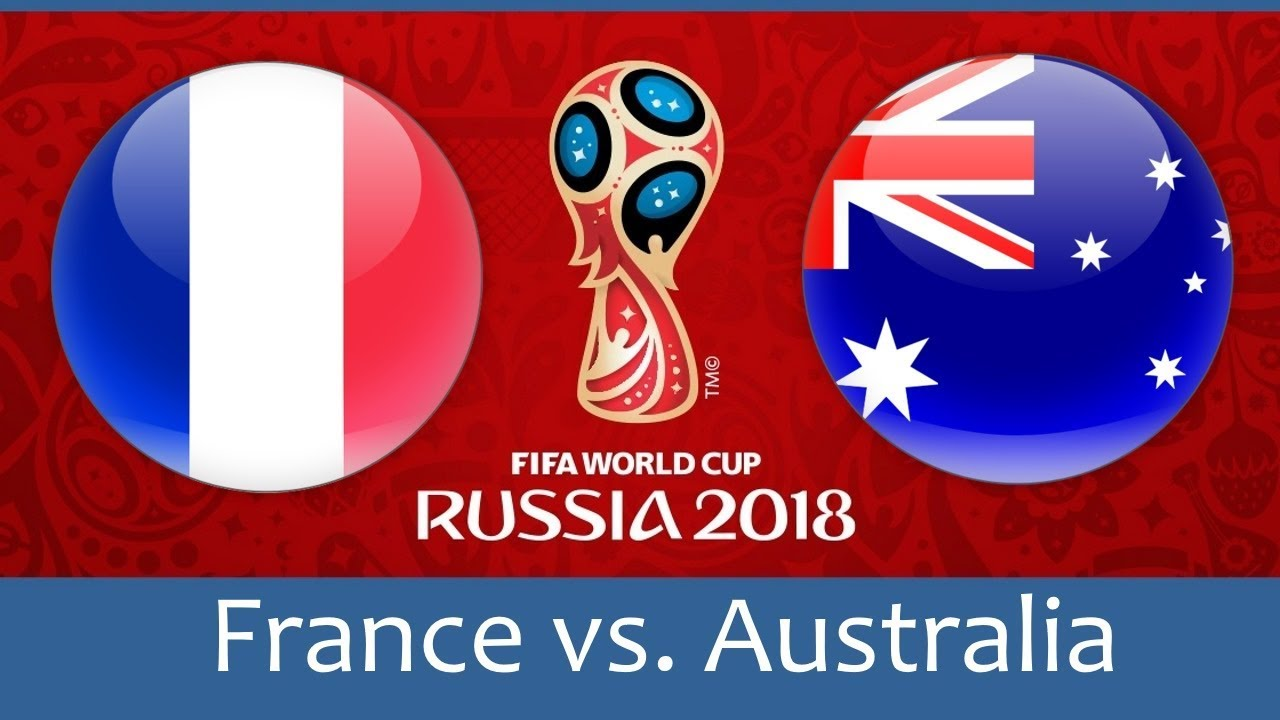 Image result for france vs australia image world cup