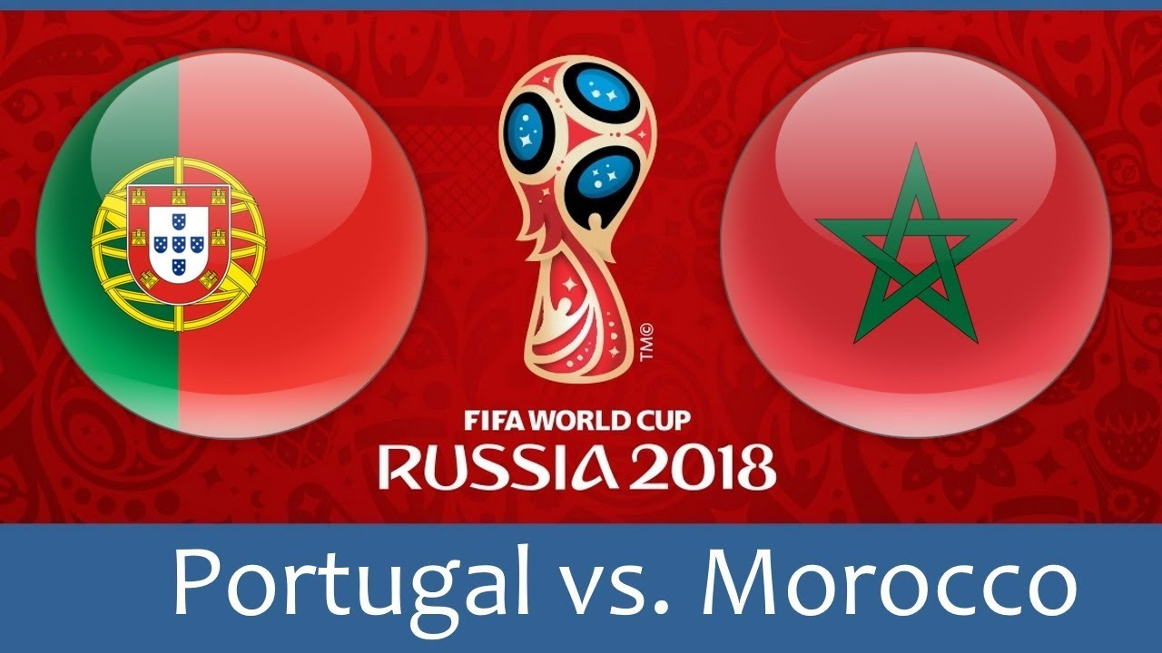 Image result for portugal vs morocco