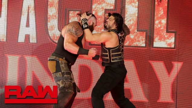 Roman Reigns Proves To  Braun Strowman He is a real Universal Champion