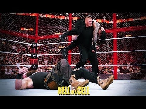 WWE HELL IN THE CELL RESULTS, ROMAN REIGNS DEFEATS BRAUN STROWMAN