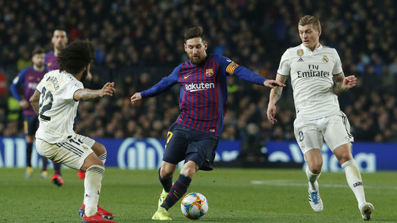 Image result for barcelona vs real madrid live february 27