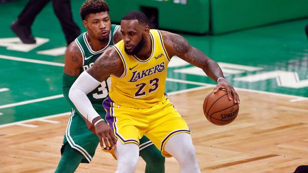 CELTICS AND LAKERS