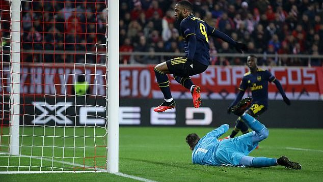Olympiacos vs Arsenal